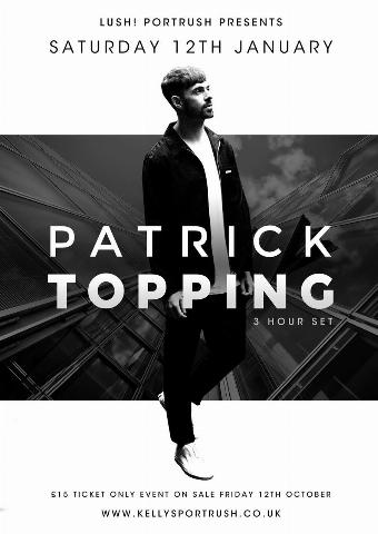 Generic placeholder imagePatrick Topping
