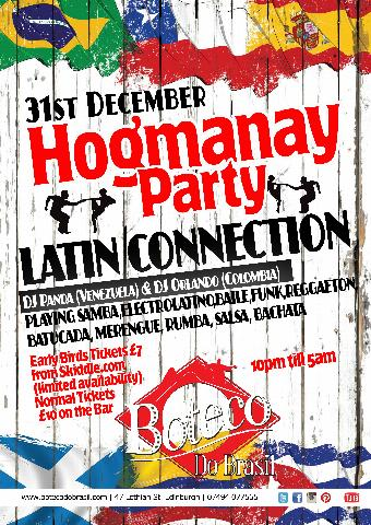 Generic placeholder imageHogmanay Party | Latin Connection