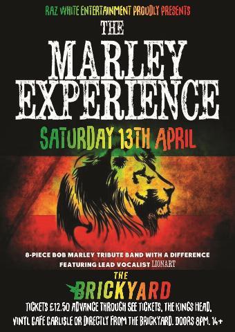 Generic placeholder imageThe Marley Experience