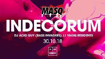 Generic placeholder imageMASQ • Halloween Rave • Indecorum • DJ ACID GUY + MORE