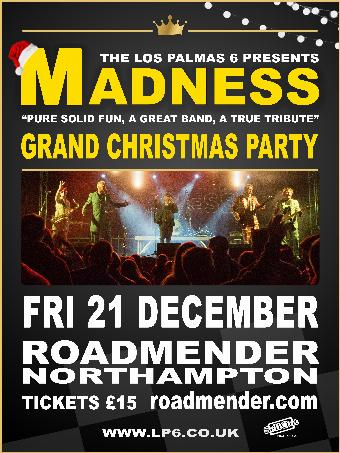 Generic placeholder imageMADNESS Tribute - Grand Christmas Party