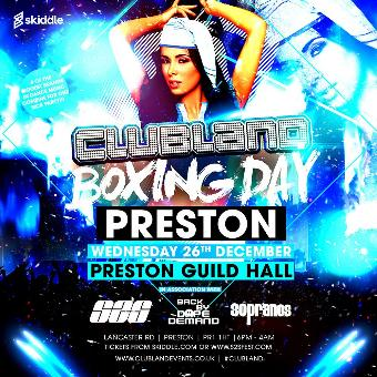 Generic placeholder imageClubland Boxing Day Preston