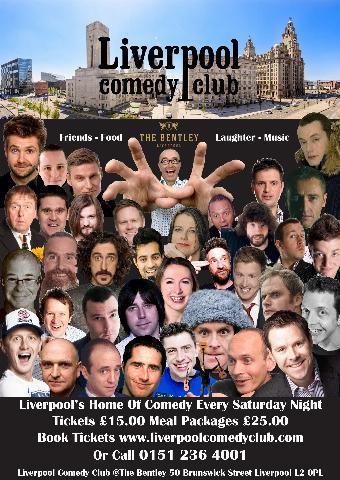 Generic placeholder imageLiverpool Comedy Club