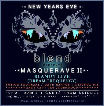 Generic placeholder imageBlend presents Masquerave 2