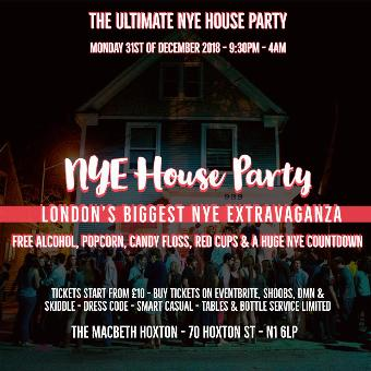 Generic placeholder imageNew Year Eve House Party