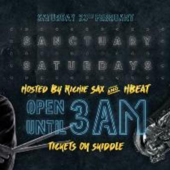Generic placeholder imageSanctuary Saturdays | RichieSax & HBEAT | 3AM