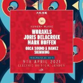 Hungry Music x London - Worakls, Joris Delacroix, Mark Hoffen