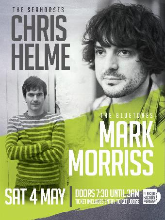 Generic placeholder imageMark Morriss (The Bluetones) & Chris Helme (The Seahorses) Live