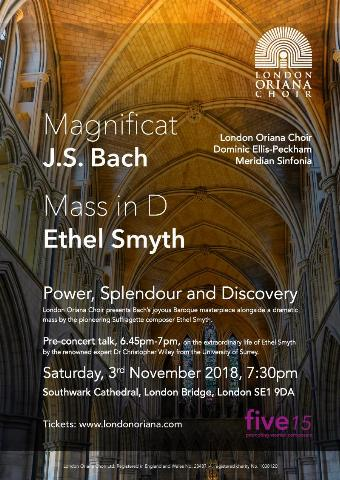 Generic placeholder imageJ S Bach: Magnificat and Ethel Smyth: Mass in D