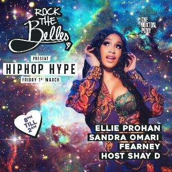 Generic placeholder imageRock The Belles x Hiphop Hype Hoxton