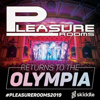 Generic placeholder imagePleasure Rooms returns to The Olympia
