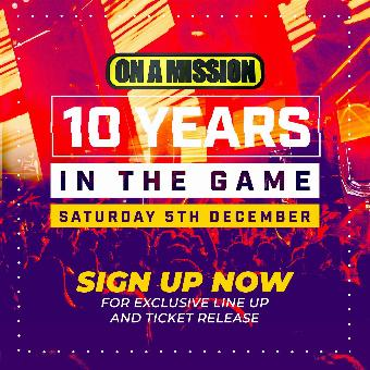 Generic placeholder imageON A MISSION 10th Birthday