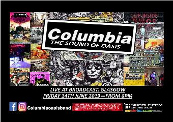 Generic placeholder imageColumbia - The sound of Oasis live at Broadcast