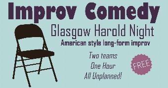 Generic placeholder imageGlasgow Harold Night (free improv comedy)