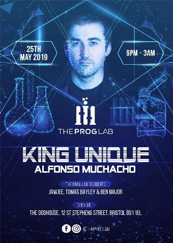 Generic placeholder imageThe Prog Lab Presents King Unique