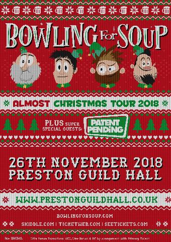Generic placeholder imageBowling for Soup | Preston Guild Hall