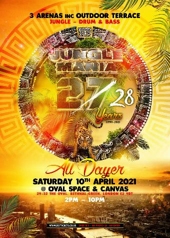 27 & 28 Years of Jungle Mania - All Dayer
