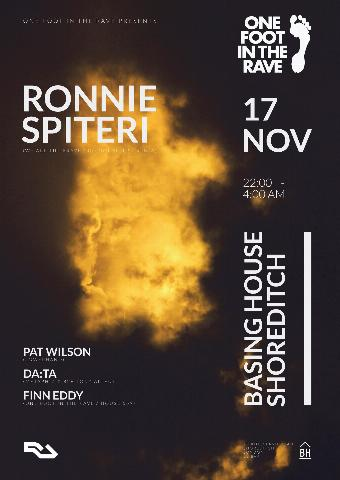 Generic placeholder imageOne Foot In The Rave with Ronnie Spiteri, Pat Wilson & More