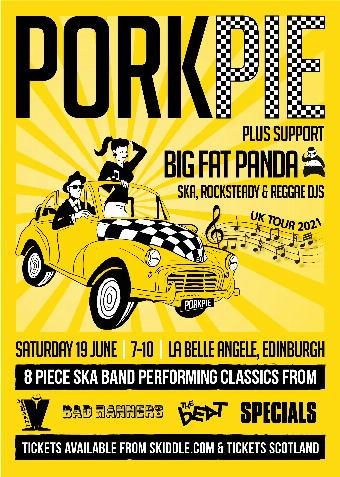 Generic placeholder imagePorkPie Ska Band Live plus Big Fat Panda